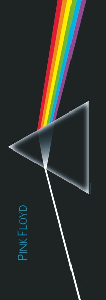 SALE DOOR FLAG PINK FLOYD - DARK SIDE OF THE MOON