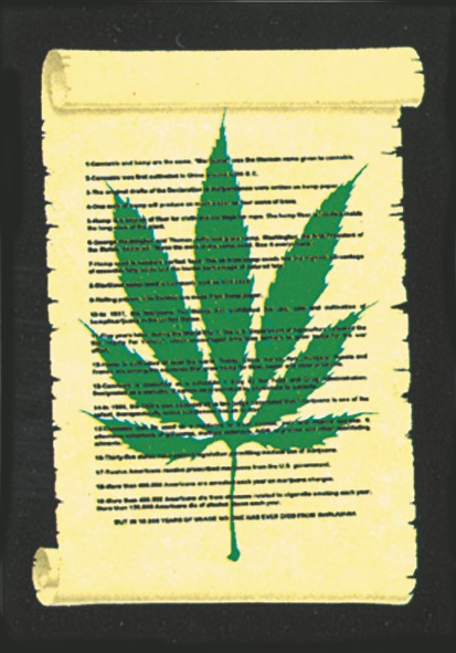 SALE FLAG CANNABIS PARCHEMENT