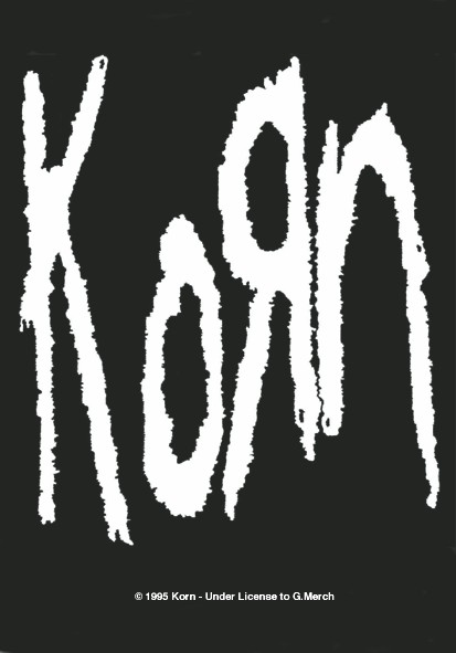 SALE FLAG KORN - BAND LOGO