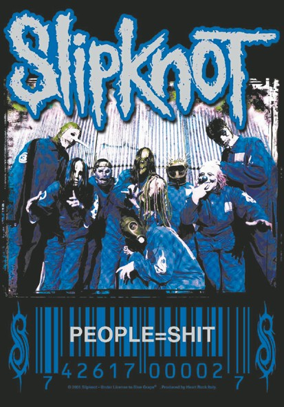 SALE FLAG SLIPKNOT - PEOPLE=SHIT