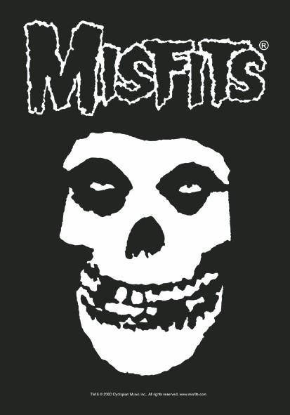 Misfits - Classic Fiend Skull