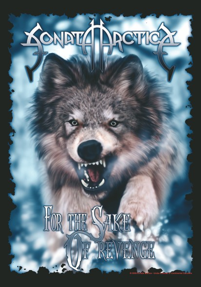 SALE FLAG SONATA ARCTICA - FOR THE SAKE OF REVENGE