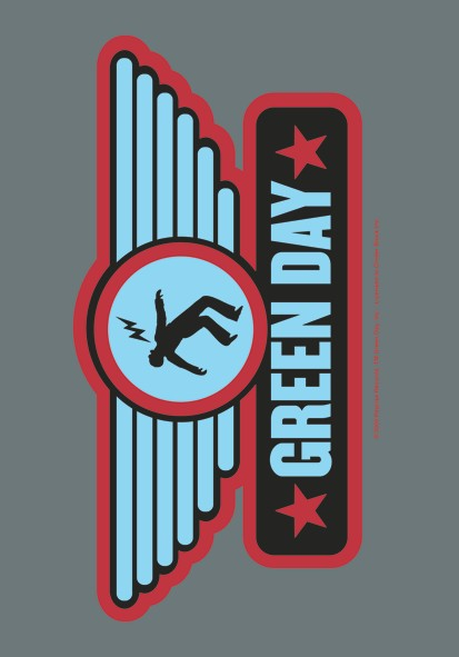 SALE FLAG GREEN DAY - WINGS