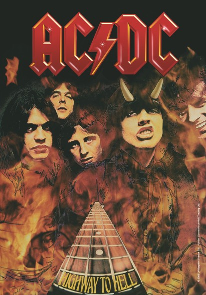 SALE FLAG AC/DC - HIGHWAY TO HELL