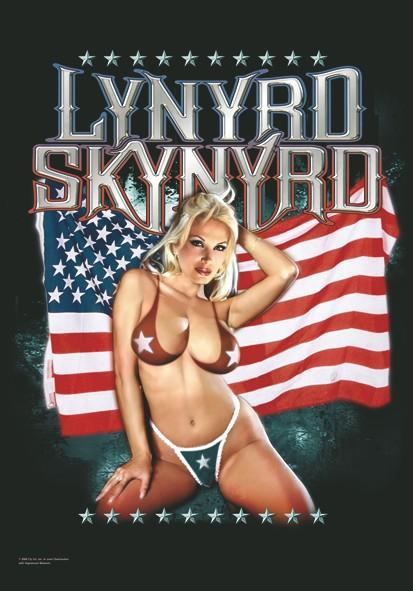 SALE FLAG LYNYRD SKYNYRD - AMERICAN FLAG