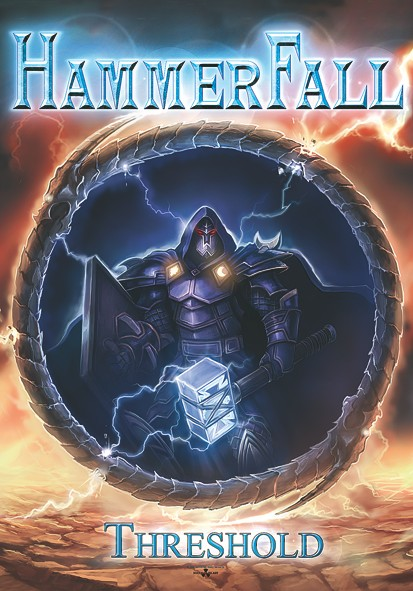 SALE FLAG HAMMERFALL - THRESHOLD