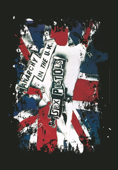 SALE FLAG SEX PISTOLS - ANARCHY IN THE UK