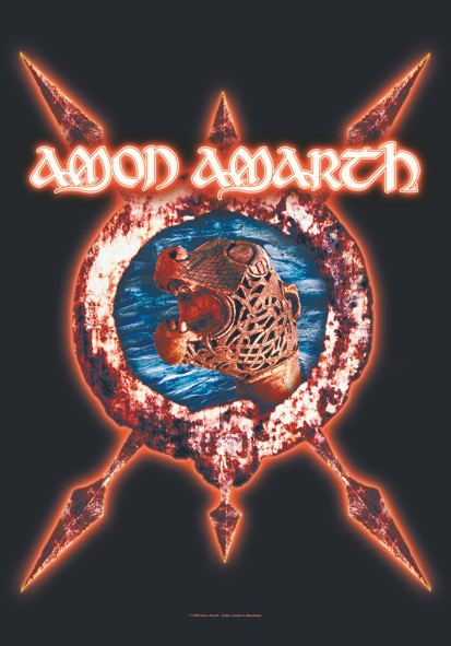 SALE FLAG AMON AMARTH - SHIP