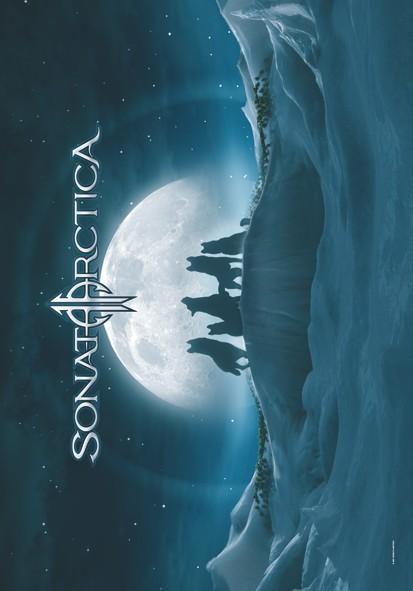 SALE FLAG SONATA ARCTICA - ICED