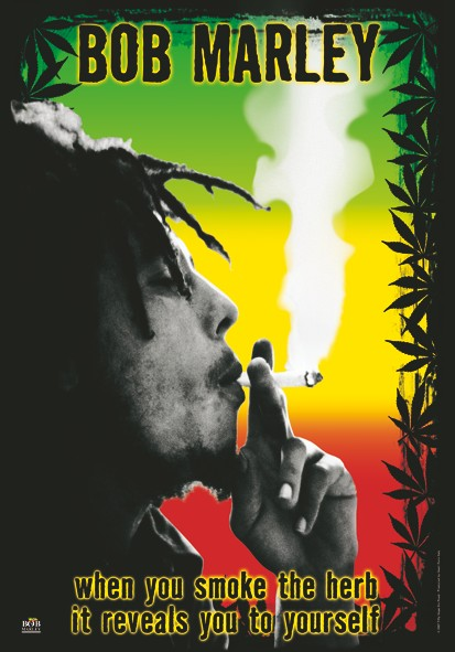 SALE FLAG BOB MARLEY - HERB
