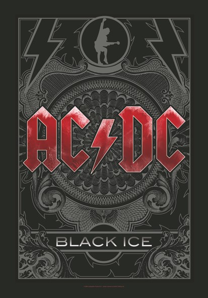 SALE FLAG AC/DC - BLACK ICE