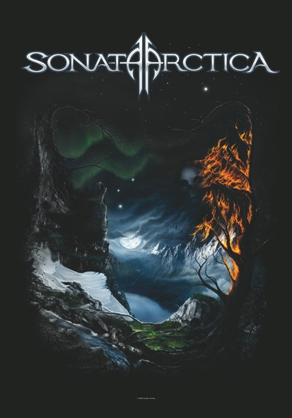 SALE FLAG SONATA ARCTICA - GRAYS OF DAYS