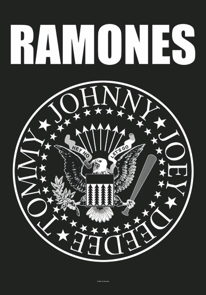 SALE FLAG RAMONES - EAGLE LOGO