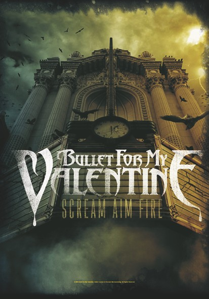 SALE FLAG B.F.M.V. - SCREAM AIM FIRE