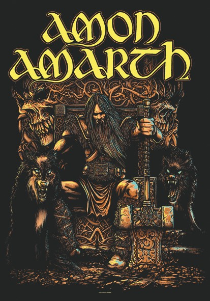 SALE FLAG AMON AMARTH - THOR