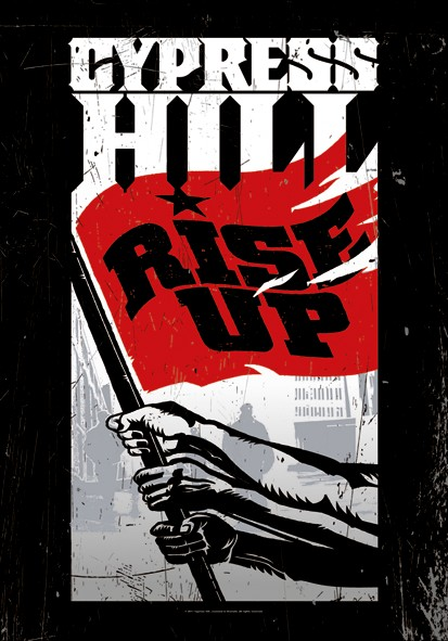 SALE FLAG CYPRESS HILL - RISE UP