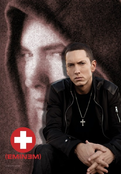 SALE FLAG EMINEM - COLLAGE