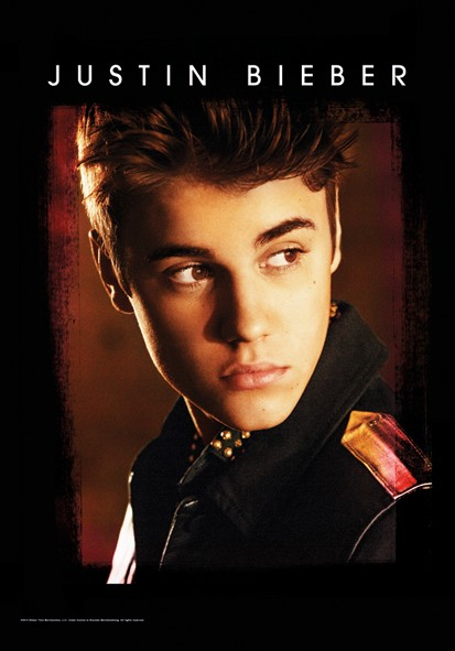SALE FLAG JUSTIN BIEBER - BELIEVE PORTRAIT