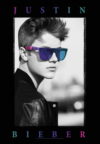 SALE FLAG JUSTIN BIEBER - GLASSES