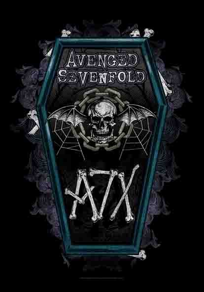 SALE FLAG AVENGED SEVENFOLD - COFFIN
