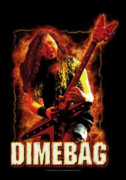 SALE FLAG DIMEBAG DARREL - FIRE