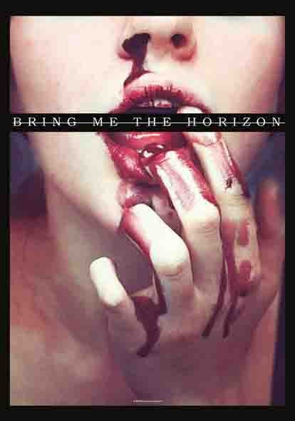 SALE FLAG BRING ME THE HORIZON - BLOOD LUST