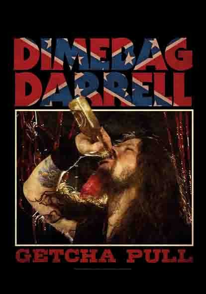 SALE FLAG DIMEBAG DARREL - GETCHA PULL