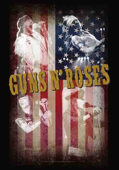 SALE FLAG GUNS N' ROSES - COLLAGE