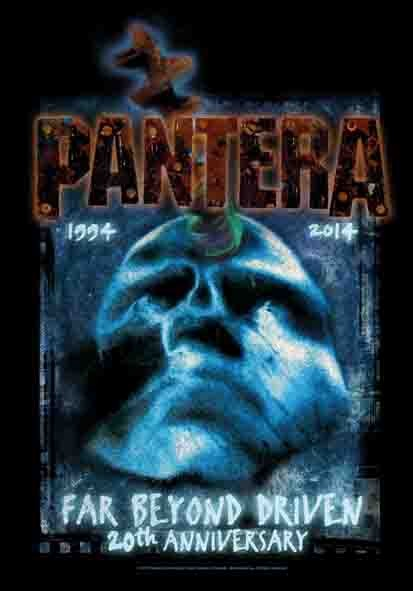 SALE FLAG PANTERA - FAR BEYOND 20TH ANNIVERSARY