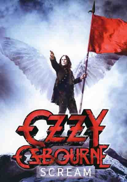SALE FLAG OZZY OSBOURNE - SCREAM