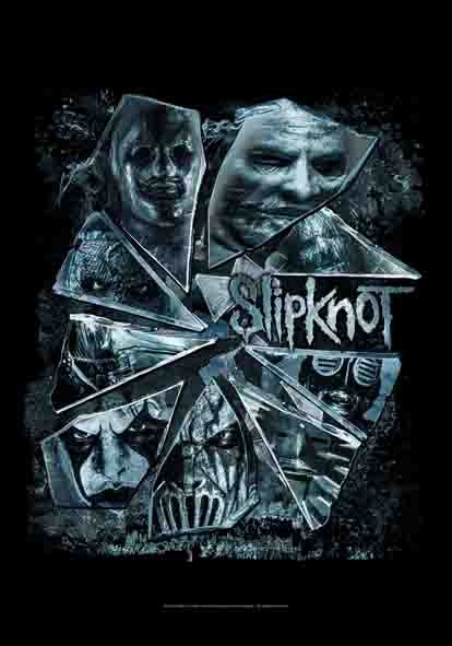 SALE FLAG SLIPKNOT - BROKEN GLASS