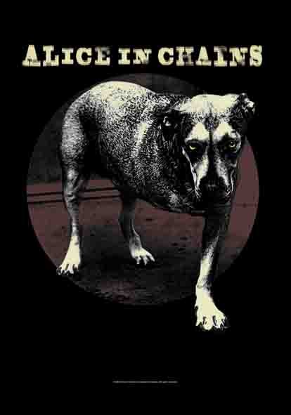 SALE FLAG ALICE IN CHAINS - GRIN