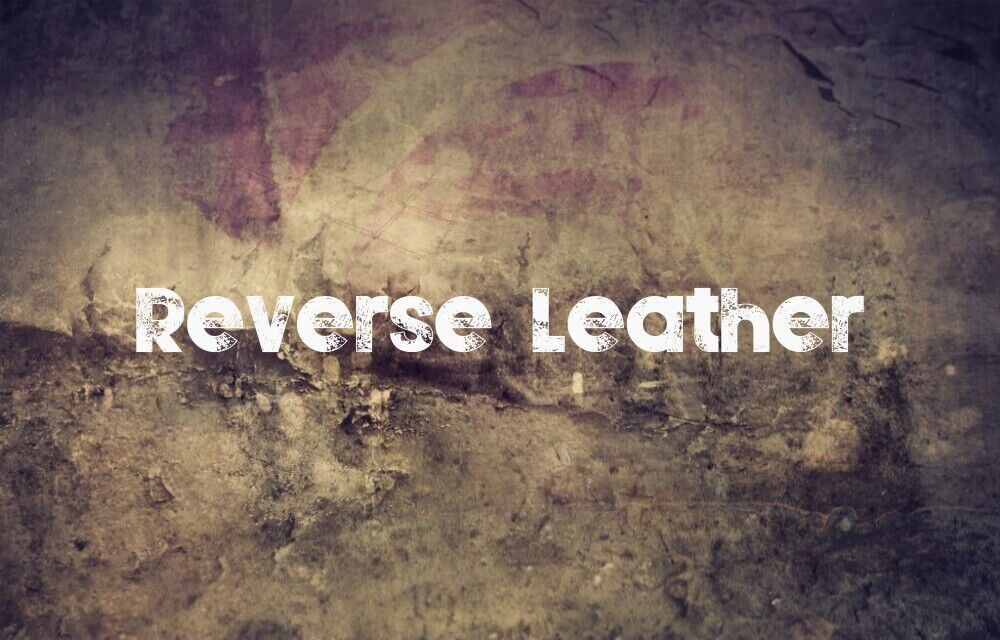 Reverse Leather | Creation flags | Providing flags